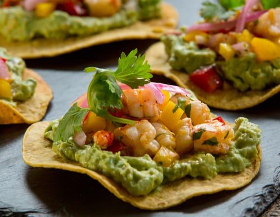 Best Bites: Shrimp tostadas