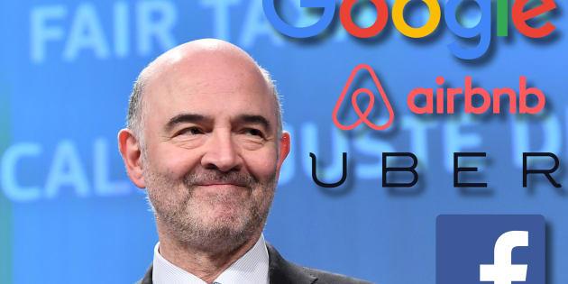 """Google, Facebook, Airbnb, Uber... Les """"Gafa"""" menacés par une taxe à 5 milliards de l'Union européenne"""