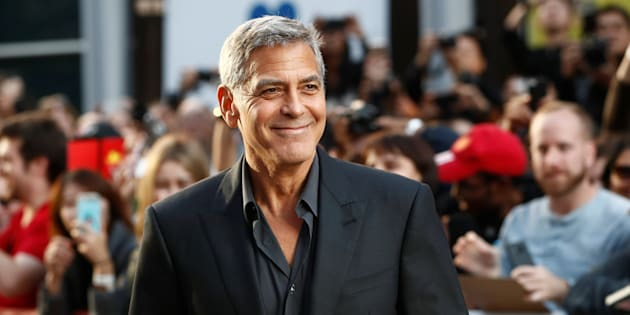 "Actor George Clooney arrives on the red carpet for the film ""Suburbicon"" at the Toronto International Film Festival (TIFF), in Toronto, Canada, September 9, 2017."