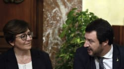 Salvini romanticamente