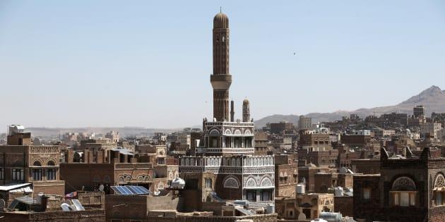 Sanaa au Yémen, en mars 2018.