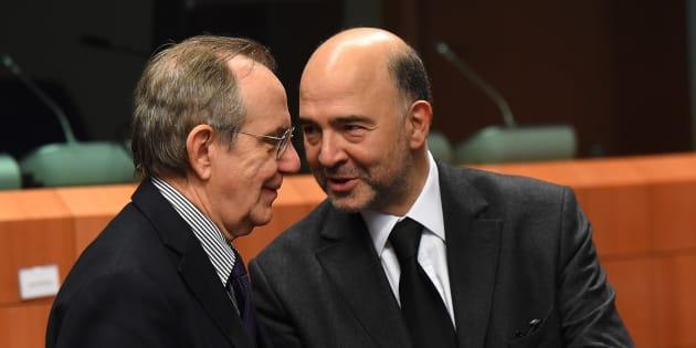 Eurogruppo: Moscovici, non sarò candidato a presidenza