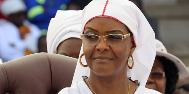 Robert Mugabe's wife, Grace Mugabe.