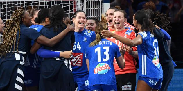 Les Françaises ont battu les Russes en finale de l'Euro de handball ce dimanche 16 décembre à Parus-Bercy.