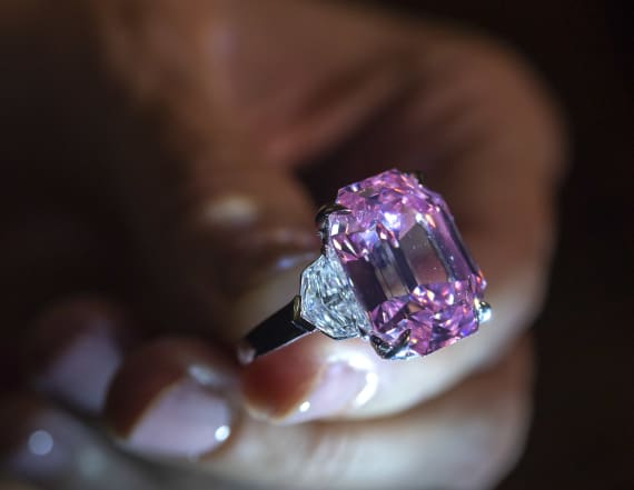 Pink diamond sells for more than $50 million