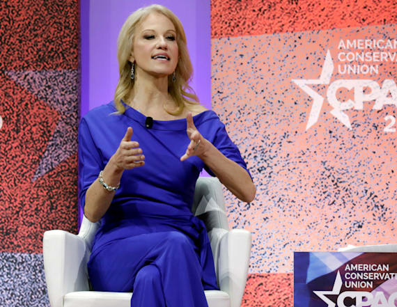 Kellyanne Conway says Trump is 'protective of me'