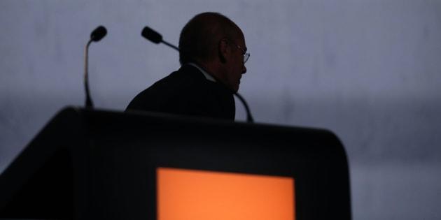 Stéphane Richard, ex dircab de Christine Lagarde à Bercy et PDG d'Orange, grand absent du procès de l'affaire Tapie