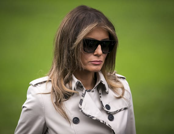 Melania Trump will not join president in Davos