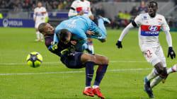 Le choc impressionnant de Mbappé avec le gardien