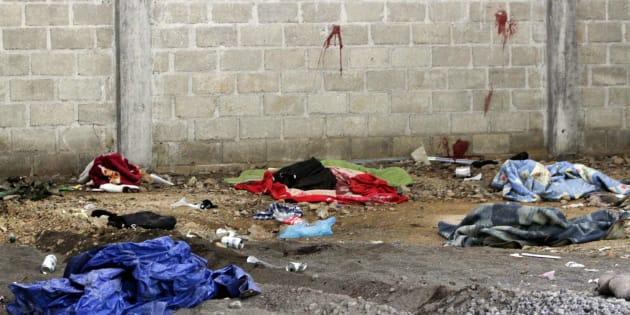 El 30 de junio de 2014, en un operativo elementos del Ejército ejecutaron a 22 personas, de estas entre 12 y 15 eran menores de edad.
