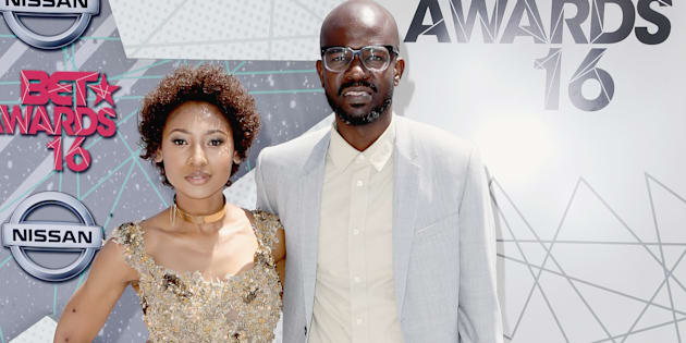 DJ Black Coffee and Mbali Mlotshwa attend the 2016 BET Awards at the Microsoft Theater on June 26, 2016 in Los Angeles, California.