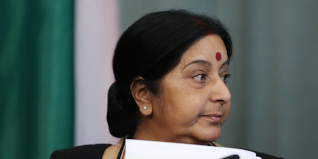 File photo of Sushma Swaraj, Minister of External Affairs.