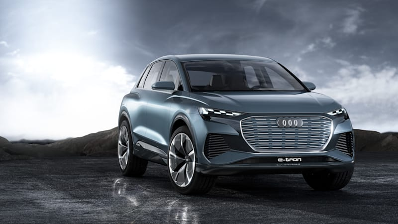Audi Q4 E-Tron Concept is the next step in the world of electric Audis