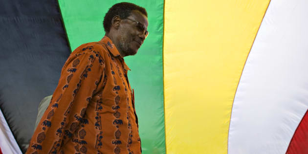 Inkatha Freedom Party leader Mangosuthu Buthelezi. Photo: REUTERS/Finbarr O'Reilly