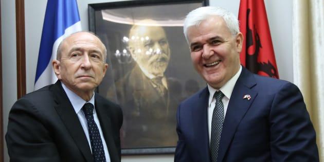 Pourquoi l'Albanie, où était Collomb ce vendredi, est devenue un sujet de préoccupation pour l'UE (et la France)