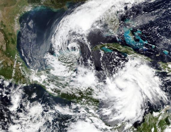 Hurricane Delta roars at Mexico's Yucatan