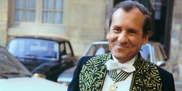 Jean d'Ormesson le 25 janvier 1979.