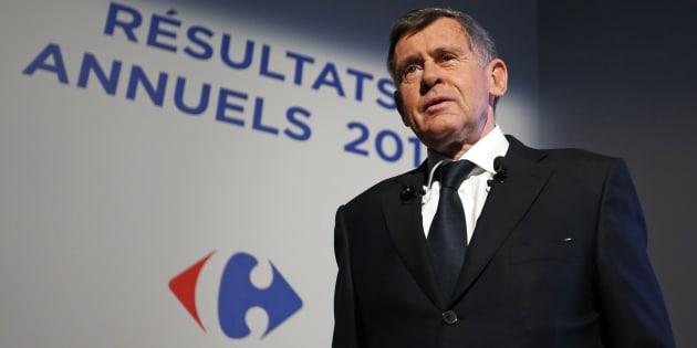 Georges Plassat, ancien PDG de Carrefour.