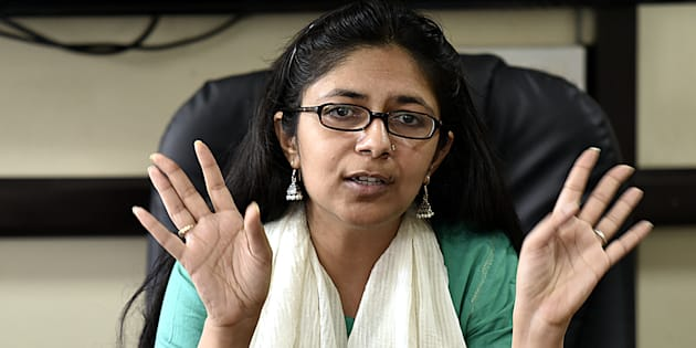 File photo of Delhi Women Commission Chief Swati Maliwal, who conducted the surprise inspection at Asha Kiran home.