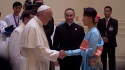 En Birmanie, le pape évite d'évoquer directement les