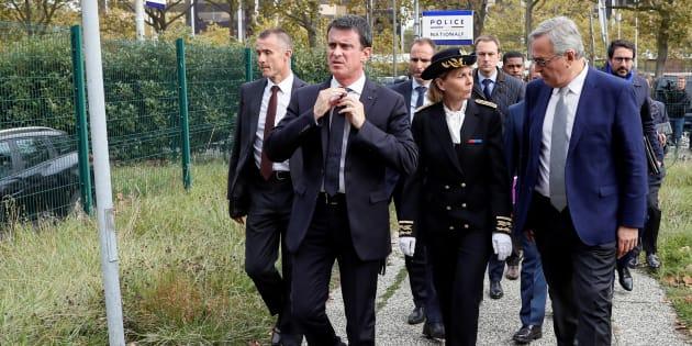 Manuel Valls, à Évry au mois d'octobre.
