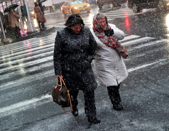 Northeastern US to experience ice, heavy rain