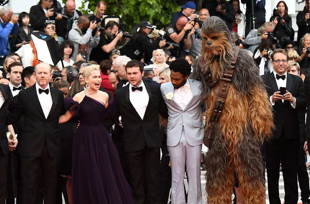 It was all about 'Solo: A Star Wars Story' on day 8 of the 2018 Cannes Film Festival