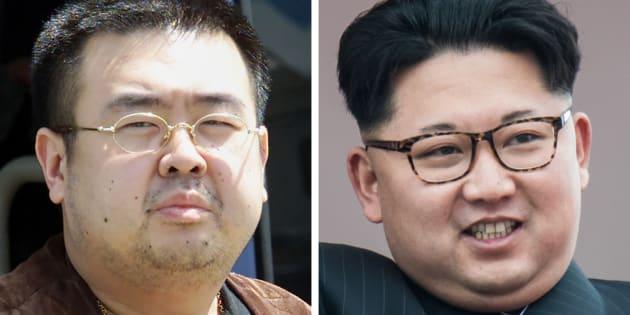 Kim Jong-Nam et son demi-frère, le dirigeant nord-coréen Kim Jong-Un.