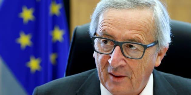 Jean Claude Juncker, presidente de la Comisión Europea, en una reunión en Bruselas, en pasado 20 de mayo.