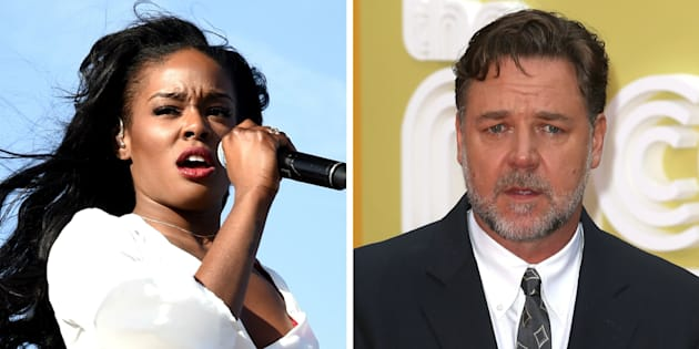Azealia Banks reportedly threatened Russell Crowe's hotel guests before the actor kicked her out of his room.