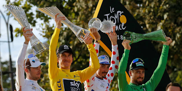 Tour de France : le trophée de Geraint Thomas volé