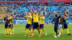 La Suède se qualifie pour les quarts en battant la