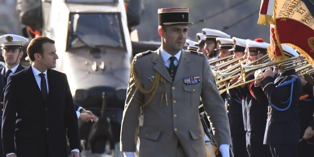 Le président de la République était sur le Dixmude, à Toulon, pour présenter ses vœux aux militaires.