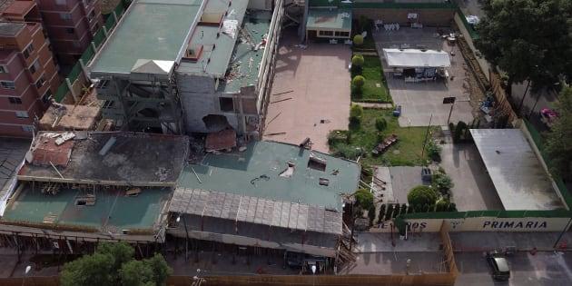 Colegio Rébsamen fue uno de los emblemas de la tragedia en el 19S.