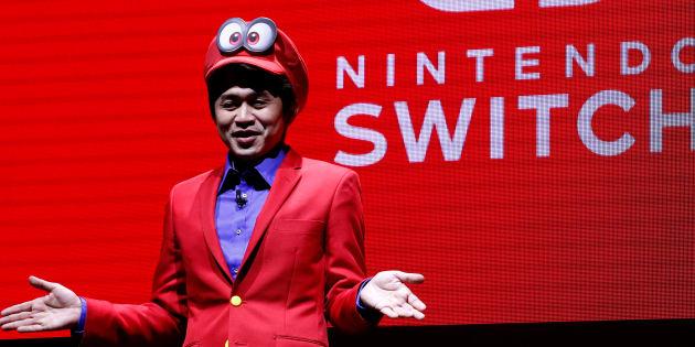 La consoleSwitch, la nouvelle catastrophe industrielle de Nintendo. REUTERS/Kim Kyung-Hoon