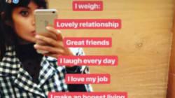 «I Weigh»: elle propose aux femmes de se peser, mais pas en