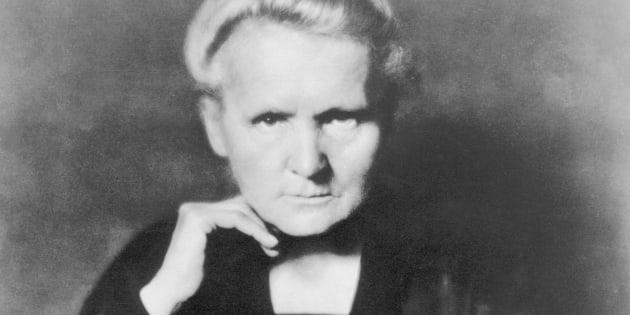 Historical portrait of the Polish-French physicist Marie Curie (1867-1934, nee Marya Sklodowska).