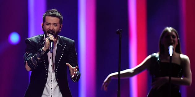 En Chine, un couple gay et des tatouages censurés lors de la demi-finale de l'Eurovision.