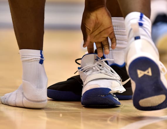 Photos show Zion Williamson's shoe after it exploded