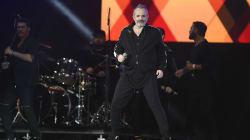 Miguel Bosé se convirtió en la estrella de 'Estamos Unidos Mexicanos' por cuatro