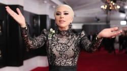 La robe de Lady Gaga a pris beaucoup de place sur le tapis rouge des Grammy