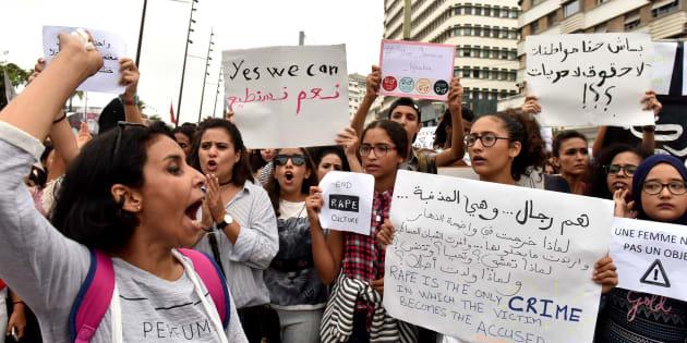 Après l'agression sexuelle dans un bus de Casablanca, manifestation pour dénoncer les violences sexuelles