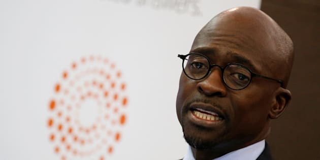 Finance Minister Malusi Gigaba during the Thomson Reuters economist of the year awards in Sandton, July 13, 2017.