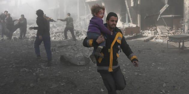 Des dizaines de tués dans des bombardements dans la Ghouta orientale — Syrie