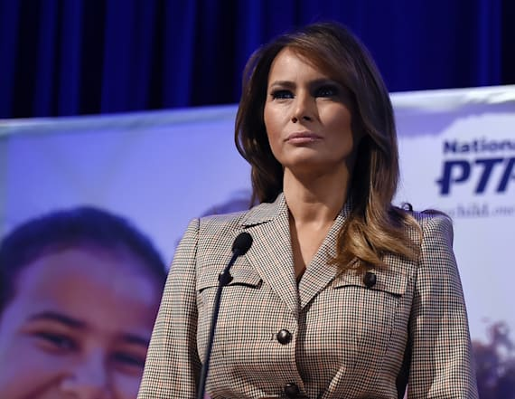 First lady urges Americans to wear face coverings