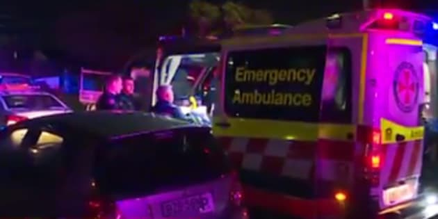 A teenage boy has been critically injured during a party brawl in Sydney.
