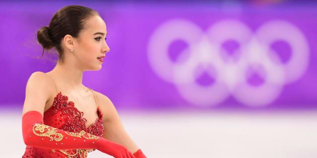 Jeux olympiques d'hiver2018: cette patineuse de 15 ans offre sa première médaille d'or à la Russie