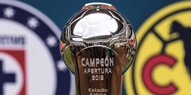 Así es la copa que obtendrá el campeón del torneo Apertura 2018 entre el Cruz Azul y el América