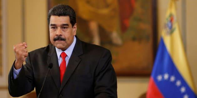 Nicolás Maduro, presidente de Venezuela, en Caracas. REUTERS/Marco Bello
