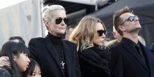 Héritage de Johnny Hallyday: Laeticia Hallyday remporte une première victoire judiciaire face à Laura Smet et David Hallyday
